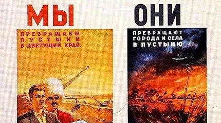 """""""Už Kremliaus sienų"""": Amerika pokario SSRS propagandoje – nuo priešo iki šanso taikiai sugyventi"""