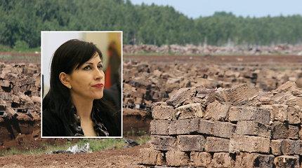 77 milijonai eurų Juodymo pelkėje: dviejų įmonių grumtynėse iškyla ir aplinkos viceministrė Daiva Matonienė