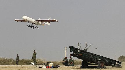 CENTCOM: JAV pajėgos galimai numušė du Irano dronus