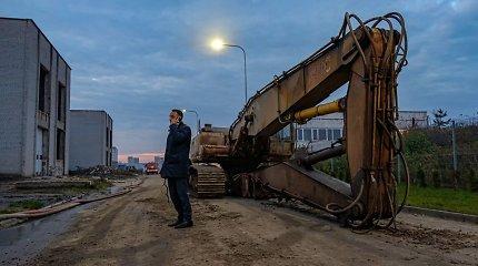Gaisras Alytuje: ministerija giriasi pabaiga, meras sako, kad gaisras užgesintas tik Vilniuje