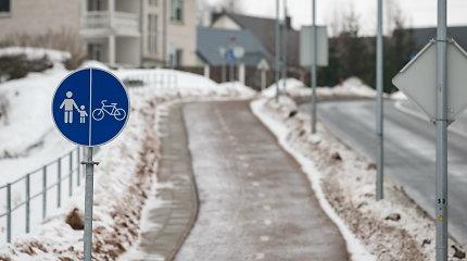 Vilniuje nauja jungtis – tiesiamas 4 km T. Narbuto g. dviračių takas