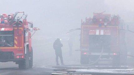 Po sprogimo Rusijos kariniame poligone gretimo kaimo paskelbta evakuacija atšaukta