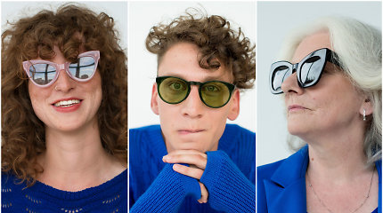 """Saulės akinius pristačiusi G.Narijauskaitė: """"Būti supernormaliu – nebijoti savęs"""""""