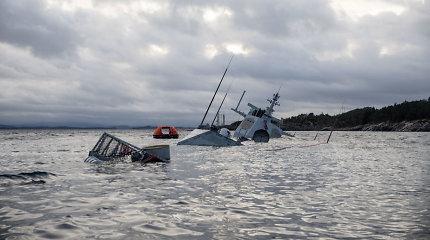 Fregatos ir tanklaivio susidūrimą Norvegijoje labiausiainulėmė žmogiškieji veiksniai