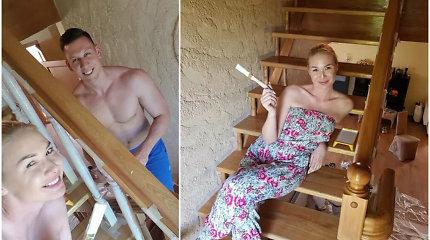 Natalija Bunkė atnaujino savo vasaros rezidenciją: su mylimuoju Edgaru kraustysis į pajūrį