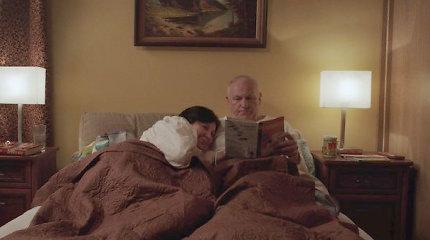 """Filmuojantis juostoje """"Melagiai"""" Larisai Kalpokaitei miegui laiko nelikdavo"""
