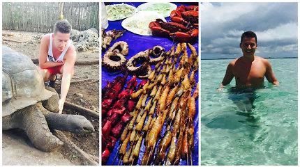 Makaliaus atostogos Zanzibare: vaizdai kaip iš atvirukų, afrikietiškos pramogos ir rojus skrandžiui
