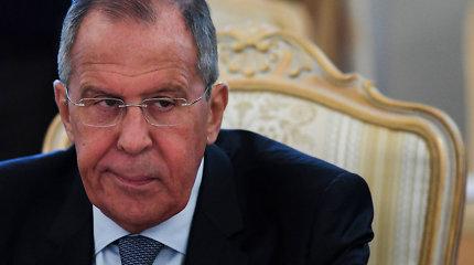 S.Lavrovas tikisi, kad su JAV pavyks susitarti dėl naujosiosSTART sutarties pratęsimo
