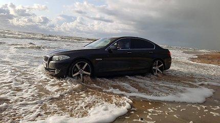 Emigrantas, su BMW įvažiavęs į Baltijos jūrą, paaiškino savo poelgį