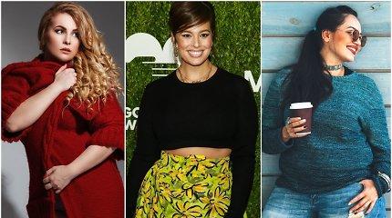 """""""Dydis nesvarbu"""" pataria: megztiniai apkūnioms moterims pagal figūros tipą"""