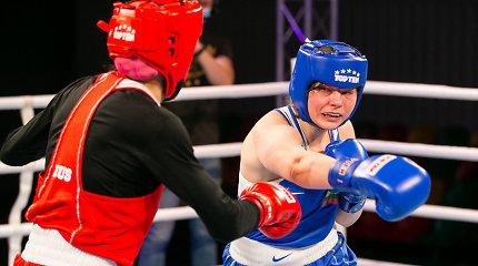 Lietuvos boksininkė pateko į Europos čempionato finalą