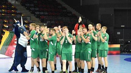 Europos rankinio čempionato atranka: Prancūzija sutriuškino Lietuvos rinktinę