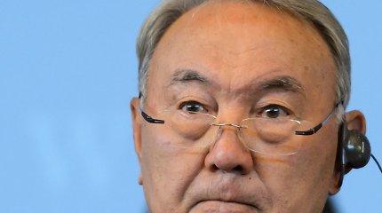Kazachstanas pereina nuo kirilicos prie lotynų abėcėlės
