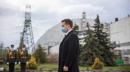 Ukraina paneigė gandus apie naujos avarijos Černobylio AE grėsmę