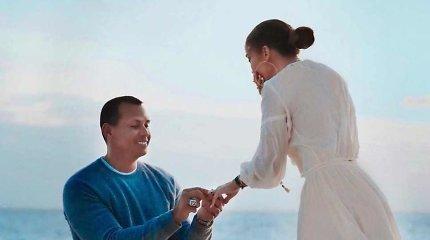 Jennifer Lopez ir Alexo Rodriguezo sužadėtuvės