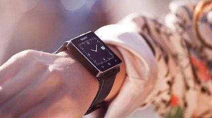 """Išmanusis laikrodis """"Sony Smartwatch 2"""": gražus dizainas – dar ne viskas (apžvalga)"""