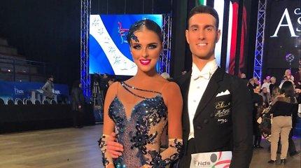 23-iąjį gimtadienį gražuolė šokėja P.Belousova sutiko Italijoje: ruošiasi svarbioms varžyboms