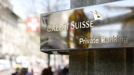 """""""Credit Suisse"""" gali grįžti į JAV turtingų klientų turto valdymo rinką"""