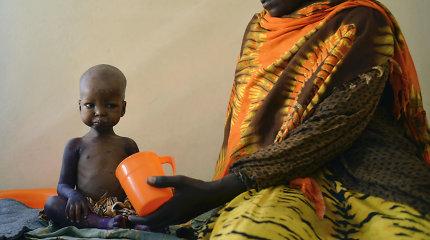 JT perspėja dėl didelio bado grėsmės Somalyje