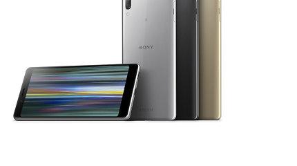 "Naujieji telefonai ""Sony Xperia"""