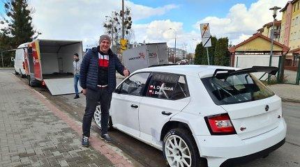 """Giedriaus Notkaus svajonė išsipildė: """"Viada-Multi FX"""" komandoje – antrasis """"Škoda Fabia R5"""""""