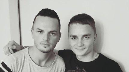 Ruslanas Kirlikinas su artimaisiais