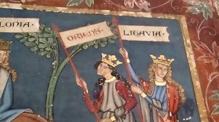 Kaip freska senoje bažnyčioje Strasbūre viena pirmųjų įamžino krikščioniškos Lietuvos vardą