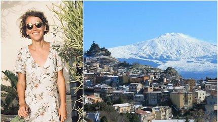 Sicilijoje gyvenanti Margarita – apie degustacinius turus, darbą su pabėgėliais ir salos ypatumus