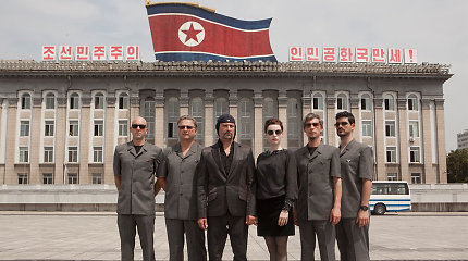 """Filmo apie """"Laibach"""" koncertą Šiaurės Korėjoje premjera: """"Mes tokie fašistai, kaip Hitleris – artistas"""""""