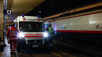 Italijos pramogų parke per incidentą sužeisti septyni žmonės