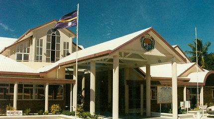 Nauru prezidentu išrinktas buvęs žmogaus teisių advokatas