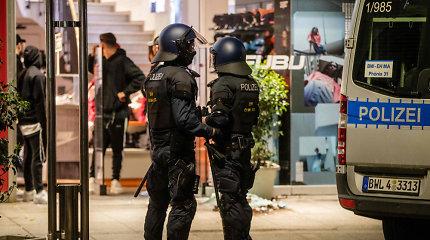 Vokietijoje pernai įvykdyta rekordiškai daug dešiniojo ekstremizmo pakurstytų nusikaltimų