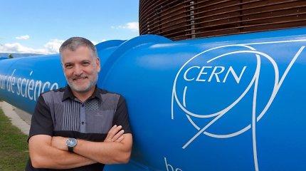 LHC laboratorijoje dirbantis fizikas: rimtų pasaulio ir mokslo problemų kaltininkas buvo sukurtas CERN mokslininkų