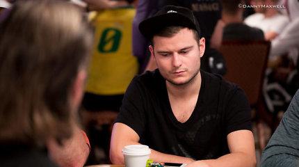 """""""Betsafe"""" lažybininkai Lauryno Levinsko šansus pasiekti WSOP finalą vertina 1:5"""