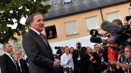 Žlugus pastangoms suformuoti Švedijos vyriausybę, šio darbo imsis nuverstas premjeras