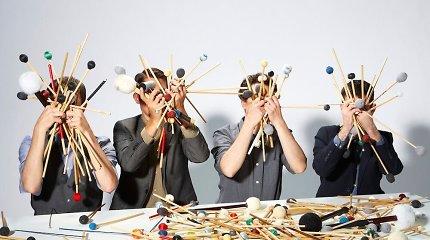 """Grammy"" laureatai ""Third Coast Percussion"" koncertuos Vilniuje"