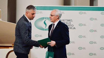 """""""Cool Water"""" įgulai – Lietuvos ministro pirmininko pasveikinimas"""