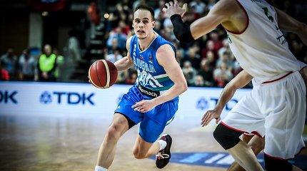 Europos čempionato atranką slovėnai pradėjo pralaimėjimu