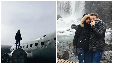 """Mantas Katleris su mylimąja atostogavo Islandijoje: """"Čia turėtų važiuoti išgyvenantys kūrybinę krizę"""""""