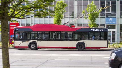 Vilniaus viešojo transporto darbuotojai tarsis dėl streiko