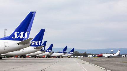 Skandinavijos oro vežėja SAS mažina skrydžių į Honkongą skaičių