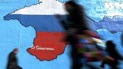 Išvydę žemėlapį, kur Krymas – Ukrainos, maskviečiai atšaukė semiotiko A.J.Greimo parodą