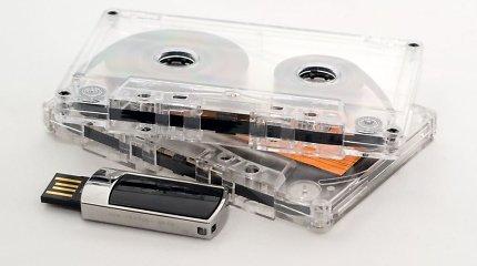 Garso kasetės neišnyko – jų trūksta