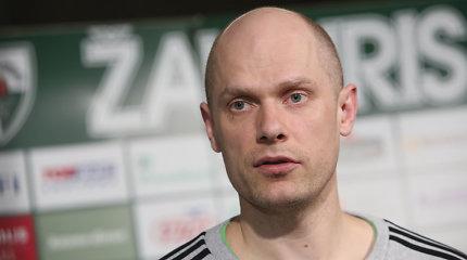 Saulius Štombergas prognozuoja gražias ir įdomias rungtynes su Krasnodaro krepšininkais