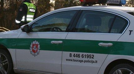 Girtas BMW vairuotojas Tauragėje sukėlė avariją: apgadintos trys mašinos