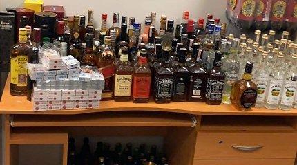Klaipėdietės bute – alkoholio parduotuvė