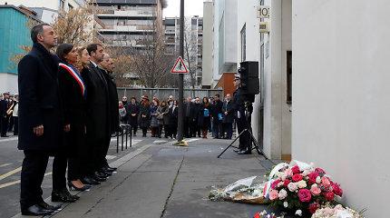 Prancūzijoje kitąmet bus teisiami prie 2015-ųjų išpuolių galimai prisidėję įtariamieji