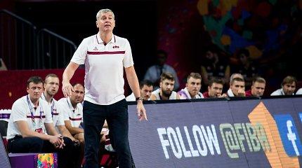 Latvijos krepšinio rinktinė turi naują vedlį
