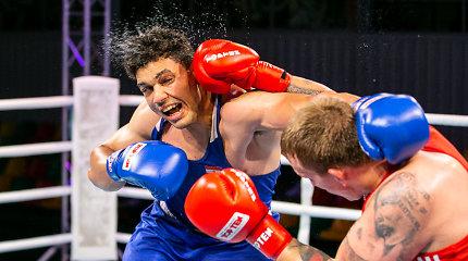 A.Šociko bokso turnyre – rekordinis čempiono titulas ir pasaulio čempionės triumfas