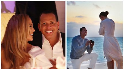 Jennifer Lopez su mylimuoju atšventė sužadėtuves: pasidalijo gražiausiomis akimirkomis